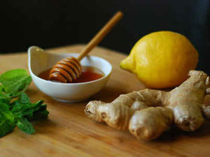 Имбирь, мед и лимон