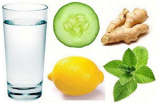 Ингредиенты для воды Сасси