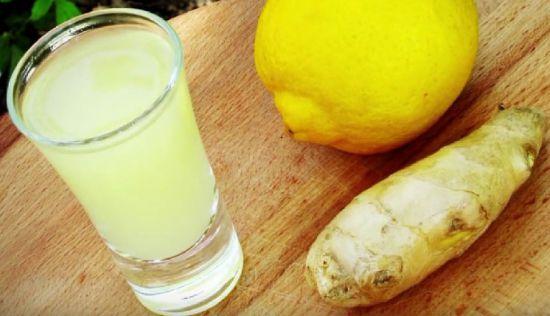 Имбирная настойка на водке с лимоном и медом