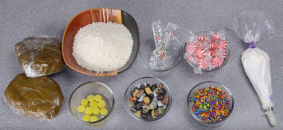 Ингредиенты для имбирного домика
