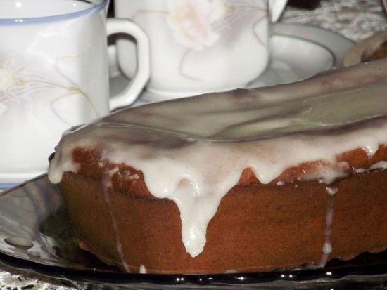 Имбирный пирог с глазурью