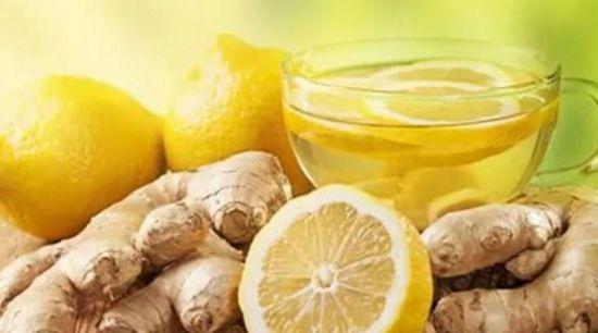 Имбирно-лимонный напиток