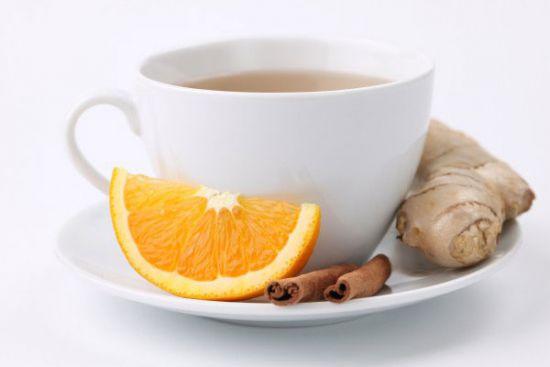 Имбирный чай с цитрусовыми
