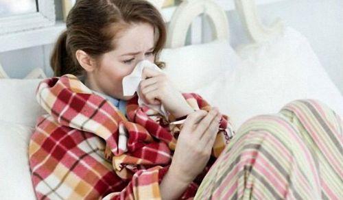 Признаки простуды