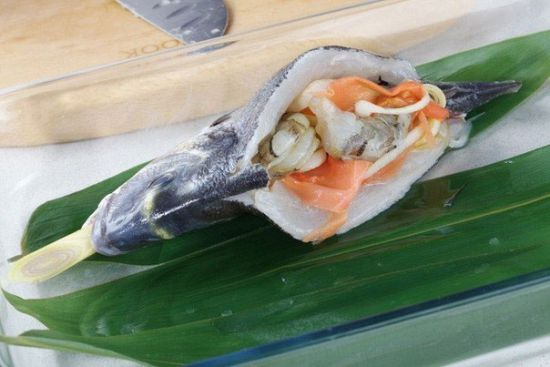 Имбирь с морепродуктами