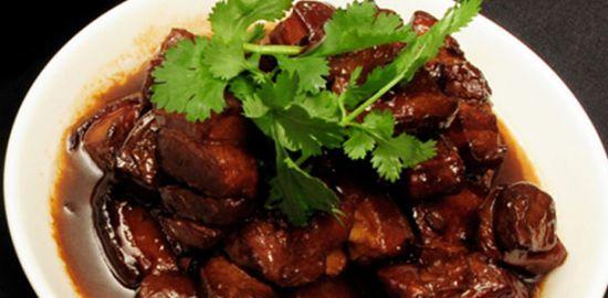 Мясо с маринованным имбирем