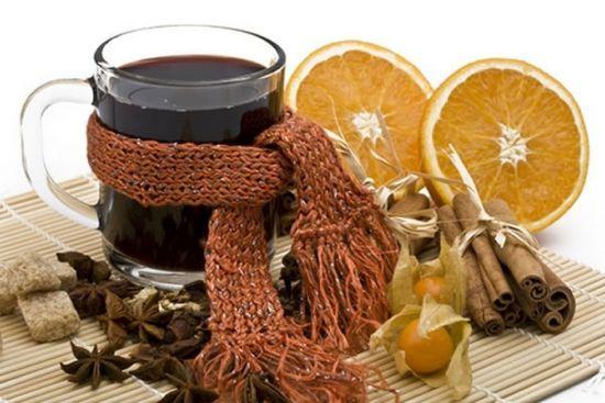 Чай с цитрусовыми и специями