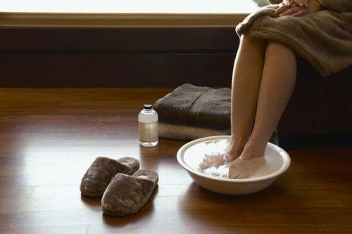Ножные ванны с имбирем