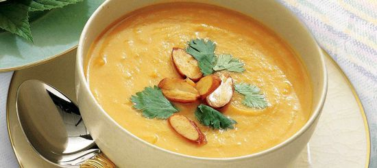 Имбирный суп-пюре