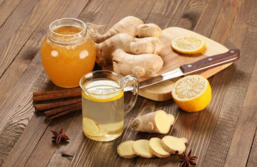 Ингредиенты для имбирного ая
