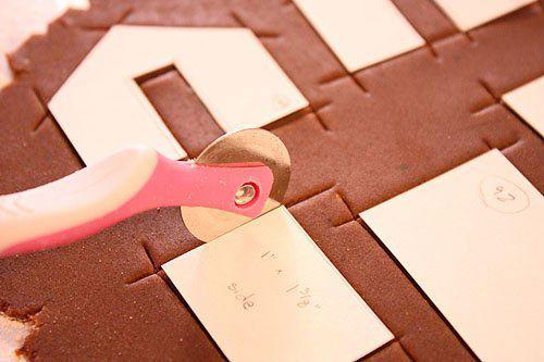 Трафареты для вырезания печенья