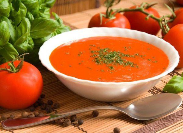 Имбирный суп с томатами