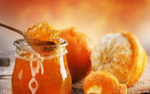 Десерт из имбиря и апельсиновых корок