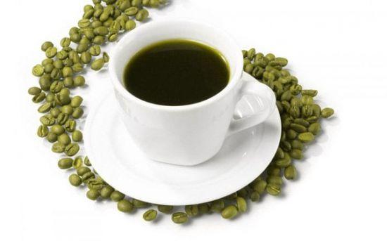 Чашка зеленого кофе