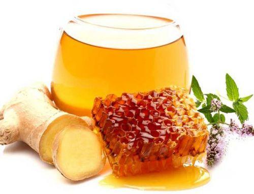 Имбирь с продуктами пчеловодства
