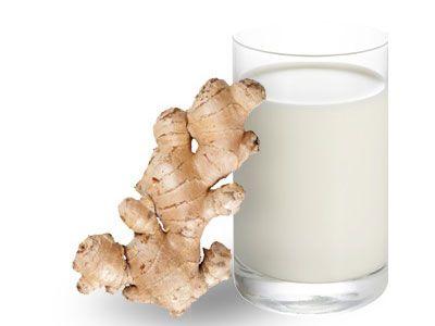 Имбирь и молоко