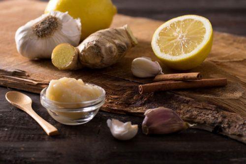 Чеснок, имбирь, лимон