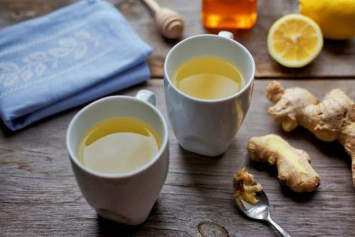 Напитки из имбиря и лимона