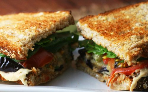 Сэндвичи с баклажанами