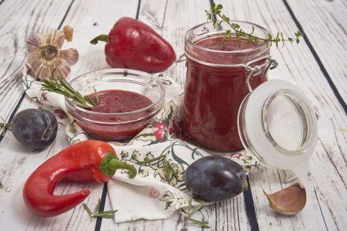 Ингредиенты для соуса из сливы