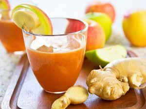 Морковно-имбирный напиток