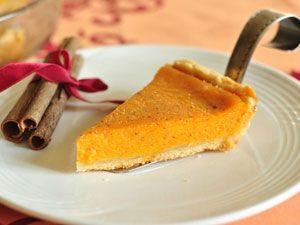 Пирог с тыквой и имбирем