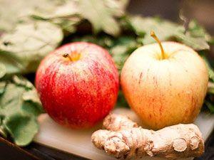 Яблоки и имбирь
