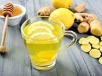 Имбирный напиток с лимоном и медом